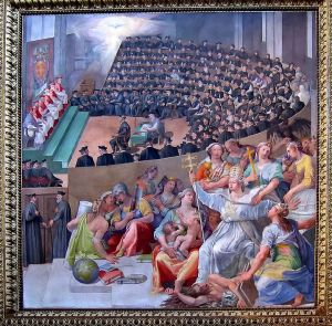 the council of trent - photo was August 28, 2005 at 15:52, Anthony M. from Rome, Italy